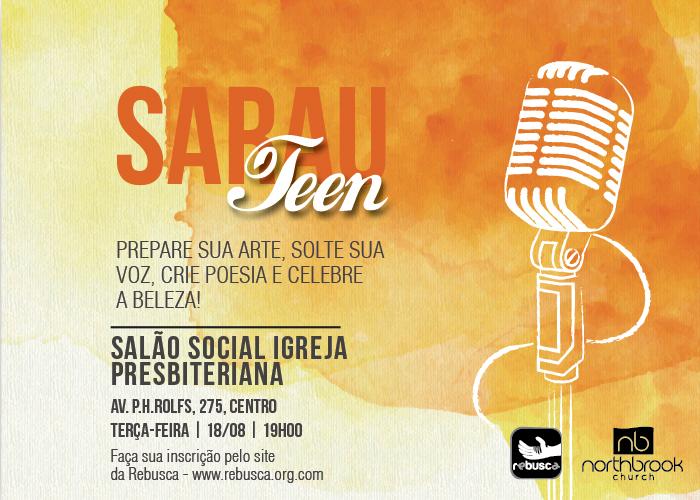 Sarau Teen – promovendo boa cultura